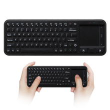 Mini Wireless Keyboard Air Fly Mouse 2.4GHz RF Teclado Sem Fio Touchpad Gaming Klavye for Smart TV Box Phone Tablet PC(China)