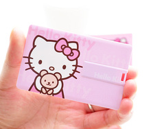 Credit card USB Flash Drive hello kitty card usb Pen Drive Pendrive 32GB 16GB Flash Drive 8GB 64GB Memory Stick Drives