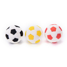 3d The World Cup football erasers Cute cartoo football Shape Rubber Eraser School Student Children's Prizes Gift Toy(China)