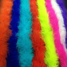 1Pcs/set 2M chicken Feather Strip Turkey Feather Boa for wedding birthday party wedding decorations clothing accessories supply