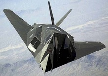 F-117A Nighthawk Attacker Airplane Diecast Pull Back Flashing 22*5CM Alloy Vehicles Toys Gifts Models Collection