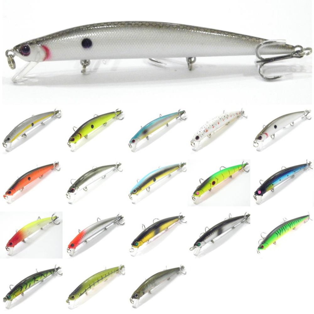 wLure Minnow Crankbait Hard Bait Weight Transfer System Slow Floating Jerkbait High Quality ABS 12.7g 12cm Fishing Lure M616