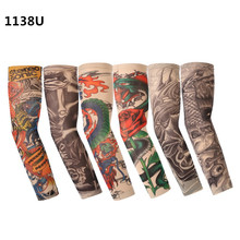 6pcs/pack Arm Warmers Camouflage Cuff Arm Sleeve UV Sunscreen Flower Printed Arm Sleeves