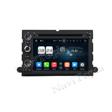 NAVITOPIA 8 Core Android 6.0 Car Radio Stereo For Ford Fusion/Explorer/F150/Edge/Expedition 2006-2009 DVD+GPS+Bluetooth+WiFi
