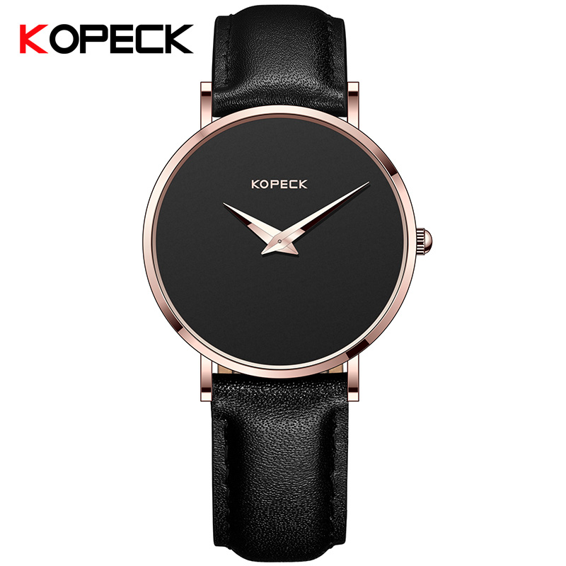 KOPECK New Fashion Casual Brand Waterproof Quartz Watch Men Leather Sports Watches Man Clock Wristwatch Relogio Masculino<br>