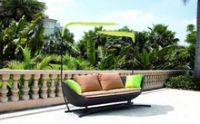 Garden feeling outdoor furniture rattan patio daybed(China)