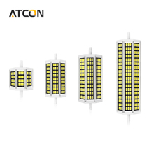 1Pcs 5W 10W 13W 20W 220V 5736SMD LED Street light Lawn Lamps Bulb R7S 78mm 118mm 135mm 189mm For Floodlight Outdoor lighting
