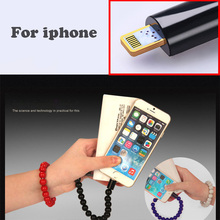 Wholesale 10pcs Bracelet Mobile Phone Date Cable usb Charging Wristband Data Sync Charger For iPhone 5s iPhone 6 6S 6Plus