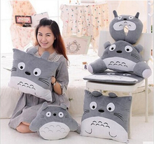 Hot sale 2016 Cartoon Totoro  6 styles Brand Character Cushion Children Stuffed Doll Girlfriend Gifts Soft Pillows