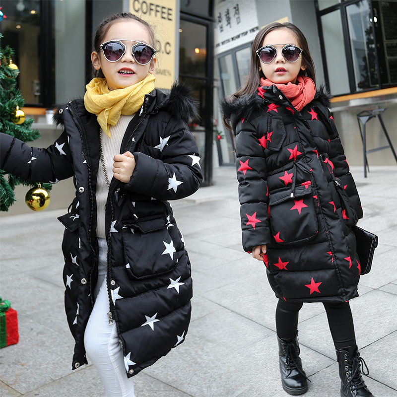 Jacket For Girls 4 5 6 7 8 9 10 11 12 13 Years Teenagers Autumn Winter Warm Baby Girl Coat Kids Teens Clothes Children Clothing<br>