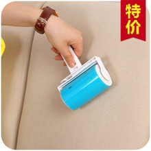 4pcs/lot Reusable Washable Lint Roller Sticky Silicone Dust Pet hair Remover Cleaning Brush with Cover for Pet Cloth Furniture