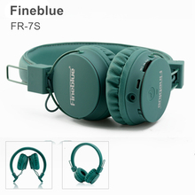 Buy Fineblue FR-7S Wireless Bluetooth Headphone Stereo HiFi Music Headset FR7S BT4.1 Version Sports Over-Ear Headphone Built-in Mic for $20.70 in AliExpress store