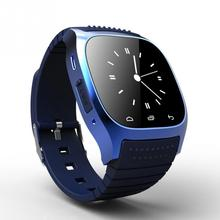 696 SmartWatch Bluetooth Smart Watch M26 with LED Display / Dial / Alarm /Pedometer for Android IOS HTC Mobile Phone(China)