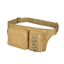 Manufacturers selling two pockets camouflage 3P  army pocket  riding mobile phone pocket waist bag