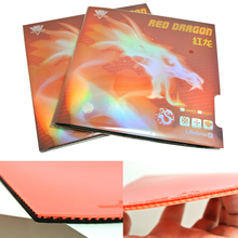High-End Three Sword Red Dragon Non-Sticky Inter-Energy Germany Imported Sponge Table Tennis Rubber/ Ping Pong Rubber(China)