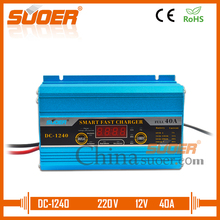 Suoer Fast Charger Battery Charger 12V 40A Auto Solar Battery Charger With Digital Display (DC-1240A)(China)