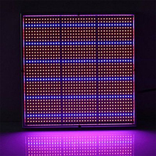 LED Grow Light 120W LED Hydroponics Grow Light Full Spectrum Plant Veg Flower Panel Lamp Indoor