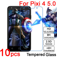 10pcs 9H Anti scratch LCD Tempered Glass cover For Alcatel Pixi 4 3.5 4 5 6 3G 4G 9001 4034 4017 5045 5010 Screen Protector Film(China)