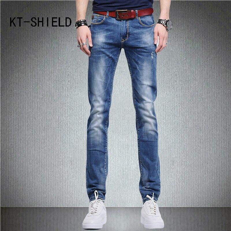 Plus size summer fashion Slim fit men trousers skinny ripped Distressed biker jeans hombre denim pants calca jeans masculinaÎäåæäà è àêñåññóàðû<br><br>