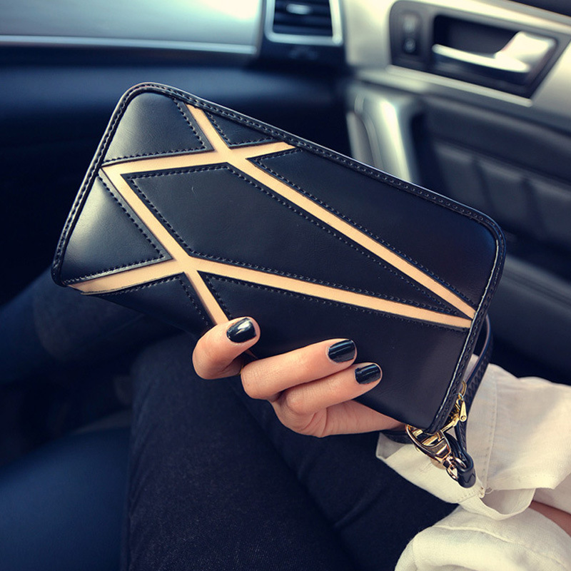 Soft PU Leather Wallet Women Casual Clutch Wallets Contains Coin Pocket and Card Holder Billetera Marca Hombre<br><br>Aliexpress