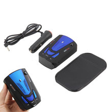 2016 NEW Car Detector 360 Degree Anti Police Radar Detector V7 For Car Speed Limited GPS Radar Detector(China)