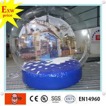 commercial life size custom christmas decorations inflatable italy wedding favors snow globe manufacturers made in china(China)