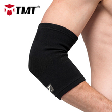 TMT Absorb Sweat Warm Armband Breathable Durable sports Elastic Elbow Guards Support Braces Protection Sports Safety elbow pain(China)