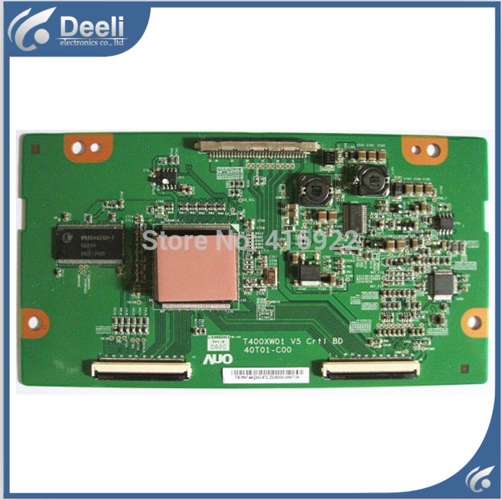 95% new original for Logic Board T400XW01 V5 CTRL BD 40T01-C00 T-CON working good In Stock 2pcs/lot on sale<br>
