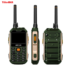 Rugged phone E8800 Russian Portuguese,Arabic Spanish 8800mAh Dual SIM Walkie Talkie Torch power bank shockproof mobile phone(China)