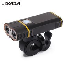 Super Bright Bicycle Light USB Rechargeable 800 LM Headlight Front Light Easy Installation Cycling Flashlight for Safty Riding(China)