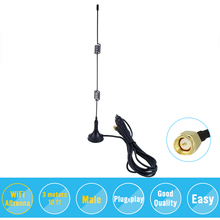 2.4GHz 9DBI Wireless Wifi WLAN 5 X Range Booster Antenna Extender +Base