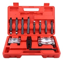 12 Pcs Bearing Splitter Gear Puller Fly Wheel Separator Set With Blow Mold Tool Kit(China)