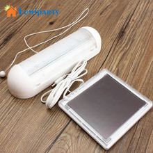 Lumiprty Solar Powered LED Lights Interior Lamp High Efficient Solar Panel Indoor Lighting Fishing Camping Tent Outdoor Lighting(China)