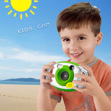 Mini Camera Creativity Neck Camera Photography For Kids Portable 5MP HD Camera Support Speaker Recording 32GB SD Card(China)