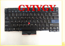 Free shipping laptop Keyboard FOR ThinkPad T410i T420 X220 T510 W510 T520 W520(China)