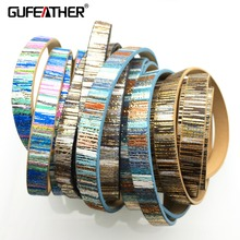 GUFEATHER/10MM/jewelry accessories/accessories parts/leather cord/diy/jewelry findings/embellishments/cords/diy accessories
