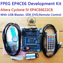 FPEG EP4CE6 Development Kit ALTERA Cyclone IV EP4CE Board with Blaster downloader max485 SDK SCH PCB Abundant Hardware resource