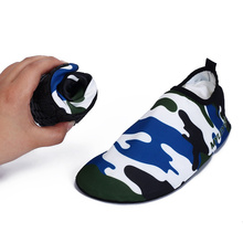 Rubber Adult Swimming Fins Diving Socks Non-slip Seaside Beach Shoes Quick Dry Snorkeling Boots Prevent Scratched(China)