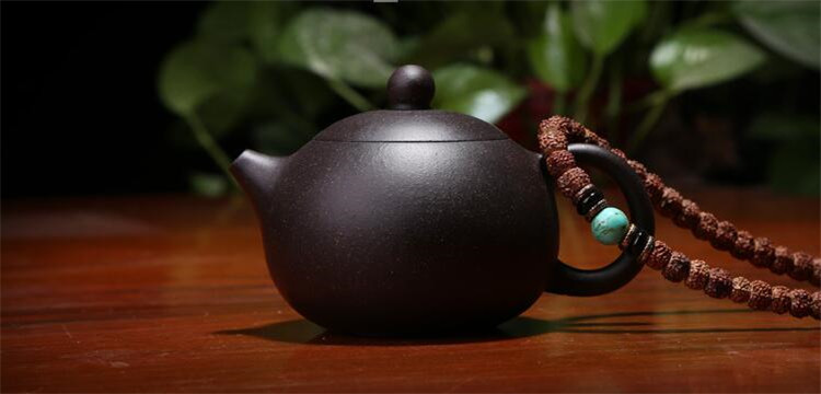 170ML yixing tea pot purple clay xi shi zisha teapot ore beauty chinese kung fu kettle suit puer black tea with gift box 3