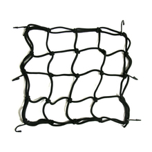 Motorcycle Bike 6 Hooks Hold Down Fuel Tank Luggage Net Mesh Web Bungee Black Helmet Mesh Hot Sale