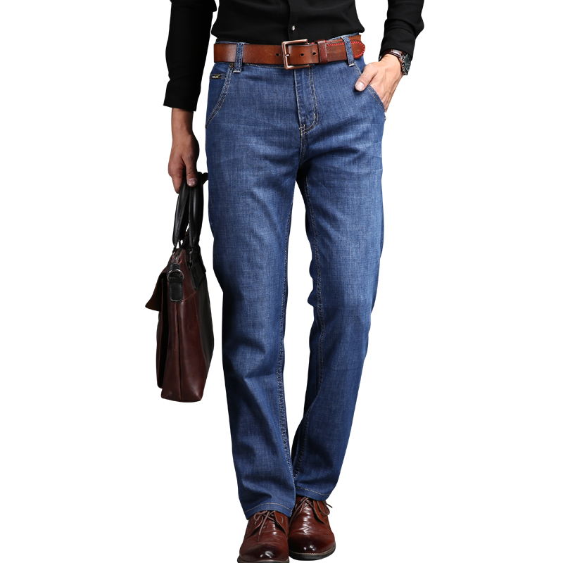 2017 Brand Mens Plus Size Casual   Jeans Men Pants Stretch Denim Blue Size 28 40 42  Mens Jeans Men SkinnyОдежда и ак�е��уары<br><br><br>Aliexpress