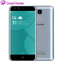 In stock!Original Doogee Y6 4G 5.5 inch HD Octa Core Cell Phone 3200mAh 2G+16G Fingerprint ID 13MP Android 6.0 Mobile phone