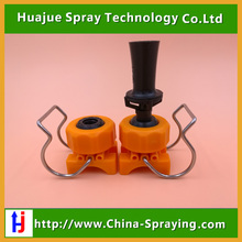 Plastic mixing fluid eductor nozzle,clip nozzle,clamp adjustable spray nozzle with venturi nozzle