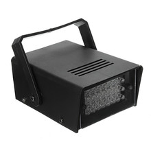 EU Plug 3W 24 LED Stage Lights Operated DJ Strobe Lights Disco Party Club KTV Stroboscope Stage Lighting Effects AC220V