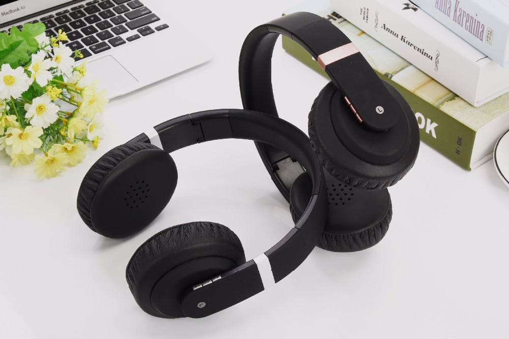 TYAYA High Quality Wireless HIFI Headphones Bluetooth Headset Foldable Over-ear Stereo Deep Bass Headset with Microphone<br>