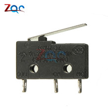10PCS Tact Switch on off KW11-3Z 5A 250V Microswitch 3PIN Buckle New(China)