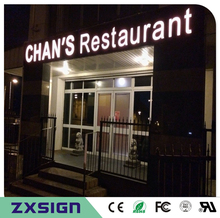 Factory Outlet Outdoor Super High brightness Acrylic led letter signs for Restaurant, coffee shop, salon business store name(China)
