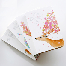 HOT Blank Sketchbook Drawing graffiti Sketch Book Cute Diary School Notebook paper 104 sheets Stationary Products Supplies gift(China)