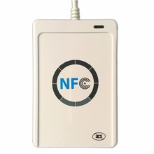 2017 RFID USB Reader ACR122U A9 NFC Smart Card Reader Writer For All 4 Types of NFC (ISO/IEC18092) Tags Access Control 13.56MHz
