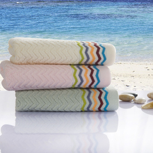 Luxury Personalized Multi Color bamboo cotton Towel On Sale Cheap Bath Home Hand Beach Towels For Adults Guest